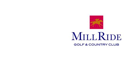 Digital Portfolios and MillRide Golf Club